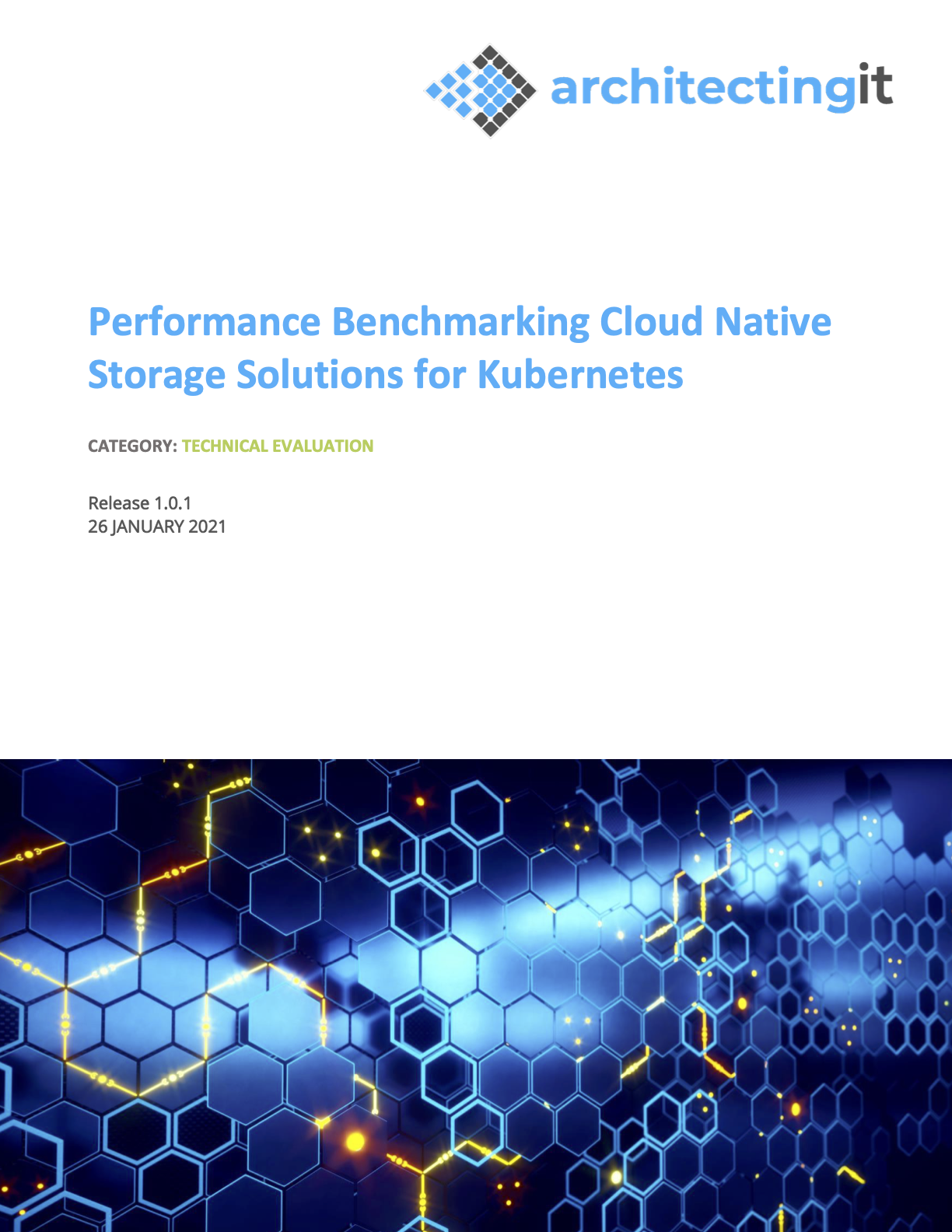 Performance Benchmarking Cloud Native Storage Solutions for Kubernetes – eBook