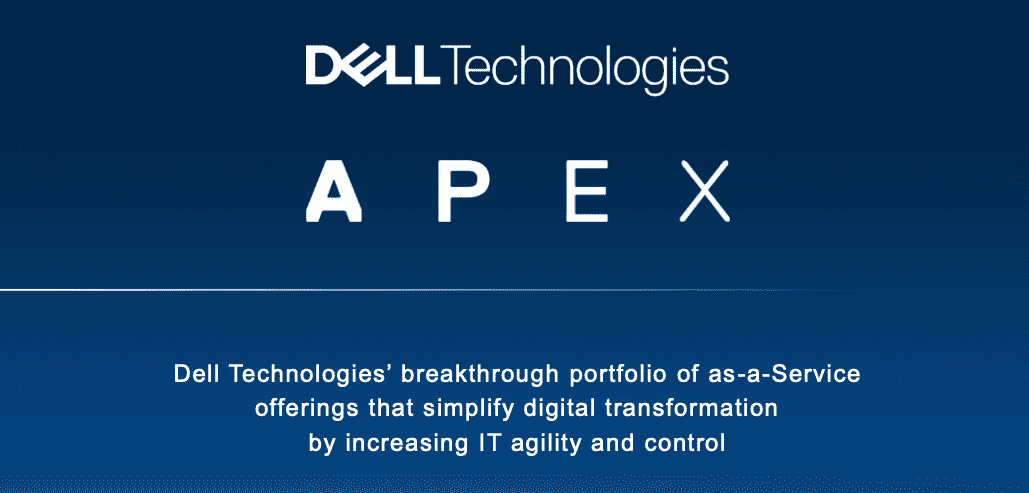 "Dell Technologies Introduces APEX as the ""New Dell"""