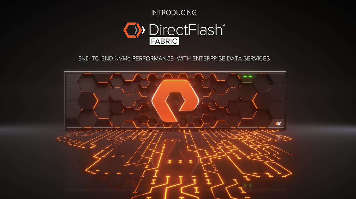 Pure Storage announces NVMe-oF support for FlashArray
